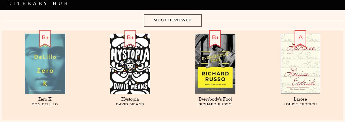Literary Hub- BookMarks